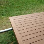 AFTER PICTURE OF THE NEW COMPOSITE DECK